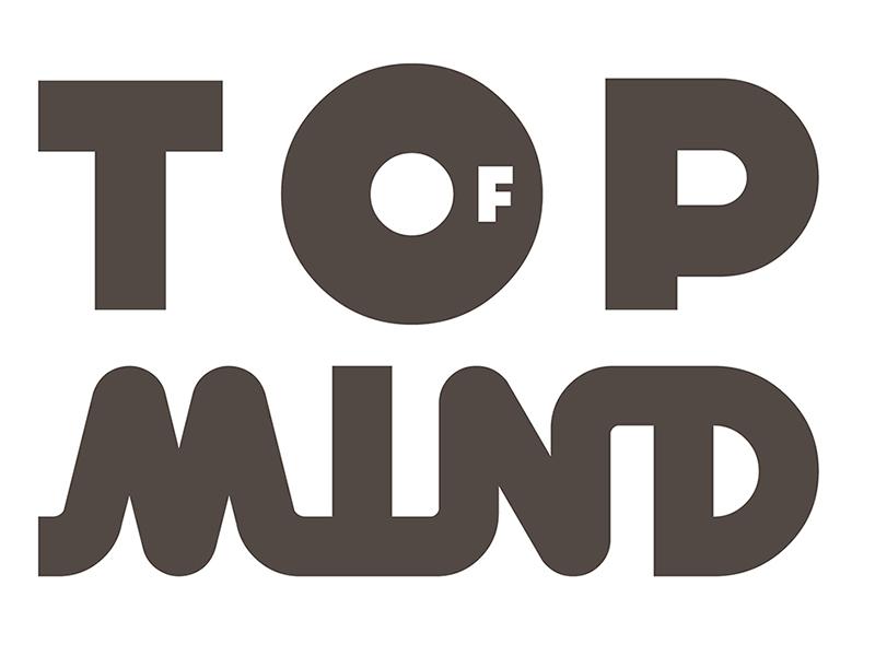Top of Mind pela 19a. vez